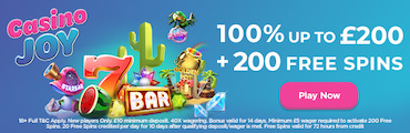 Casino Joy UK Online Casino