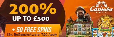 Casimba Casino No Deposit Bonus