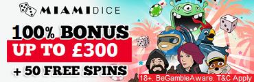 Miami Dice Casino UK
