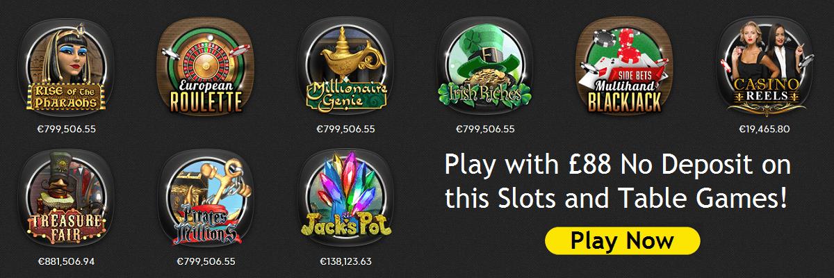 £88 Bonus 888 Casino