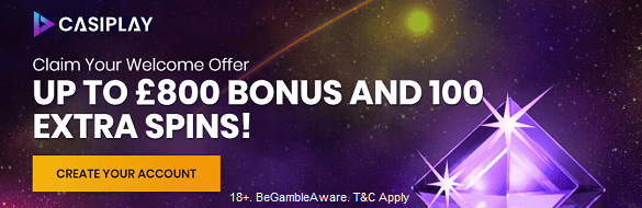 Casiplay Casino UK Bonus