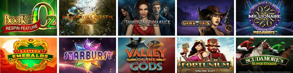 Casino Gods Video Slots
