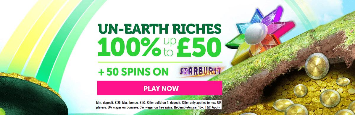 Casino Luck Bonus UK