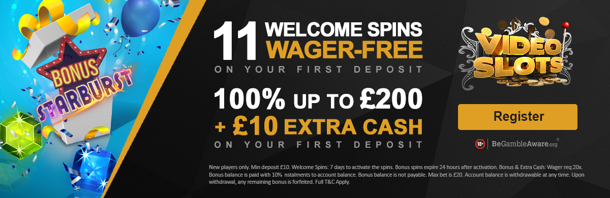 Videoslots Casino Free Spins No Wager