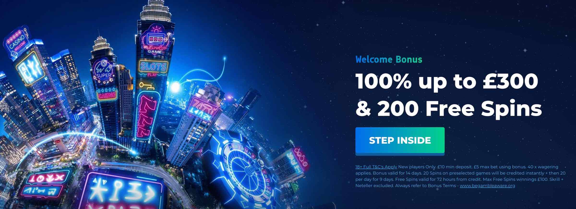Planet Casino UK Bonus
